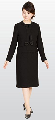 喪服 ブラックフォーマル レディース 礼服 ノーカラー 黒 マタニティ セレモニー ミセス ゆったり Marycoco(メアリーココ) RS-141-903