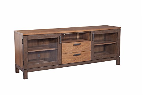 Furniture At Home Food and Wine Estate Collection Console, Dark Chocolate/Walnut