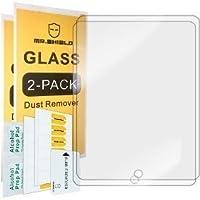 Netoriente 2 Pack Mica Cristal Templado para iPad Air 9.7 2018 Protector de Pantalla Compatible iPad Air 2 iPad 5 2017 iPad 6ta generacion de 9.7 Pulgadas 2018 Antireflejante Transparente