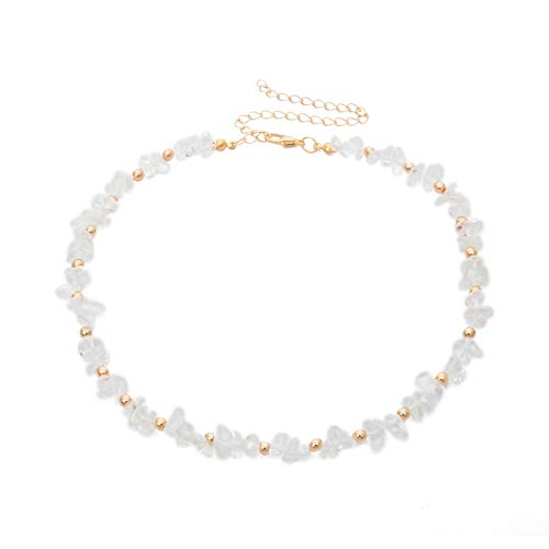 Handmade Necklace Women Retro Necklace Handmade Natural Pearl Shell Jewelry Pendant Bohemian Style(clear) ()