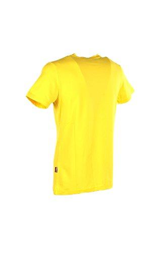 T-shirt Uomo Carlsberg L Giallo Cbu3059 Primavera Estate 2018