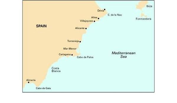 Imray Chart M12: Cabo De Gata to Denia and Ibiza: 9781846231827: Amazon.com: Books