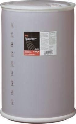 3M 06834 Overspray Masking Liquid-Dry - 55 Gallon