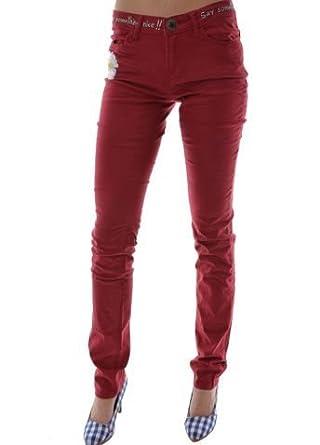 Desigual Vêtements Rouge Pant Pantalon sandra xwggqY0Zp