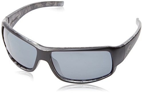 Anarchy Men's Buster Polarized Rectangular Sunglasses,Black Engine,63.5 - 2014 For Glasses Men