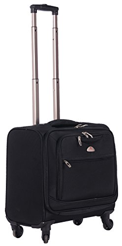 (American Flyer South West 4-Wheel Professional Business Case, Black, One Size )