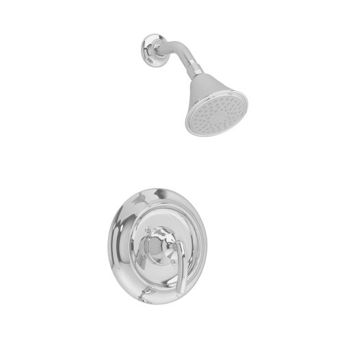 American Standard T038501.295 Tropic Shower Only Trim Kit with Showerhead, Flange and Arm, Satin Nickel