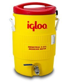 Learn To Brew Mash Tun Igloo Ton with Stainless Steel False Bottom & Valve, 10 gallon by Learn To Brew Mash Tun