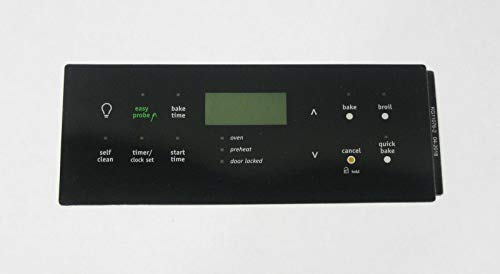 Oven Clock Overlay Pad 316419361 for Electrolux Frigidaire ERC Range Control