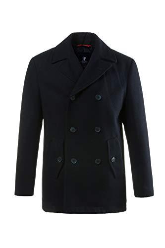 JP 1880 Herren große Größen bis 7XL, Cabanjacke, Mantel mit hochwertiger Woll-Qualität, Reverskragen 700196