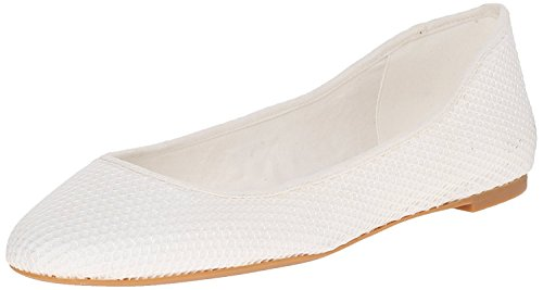 B Nine Adorabl B West 36 4 Fabric M White EU White UK Flat Fabric Ballet Women'S M SSv6Rwqp