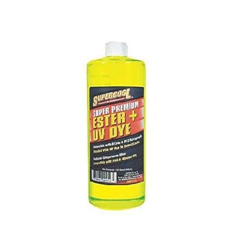 32Ounce Automotive Car Premium Ester Plus UV DYE E32 1t A/C Compressor Oil Quick - E32 Oil
