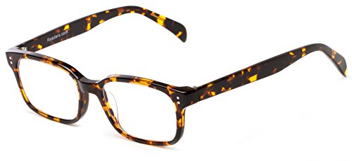 Readers.com The Hawkins Multi-Focal Computer Reader +3.00 Tortoise Unisex Rectangle Reading - Google.com Glasses
