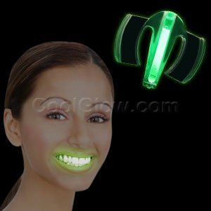 Glow Mouth Guard Green Amazoncouk Toys Games