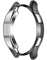 Kompatibel för Samsung Galaxy Watch 4 Classic 46 mm fodral, TPU mjukt klockskyddstillbehör för Galaxy Watch 4 Classic 46 mm Smart Watch fodral