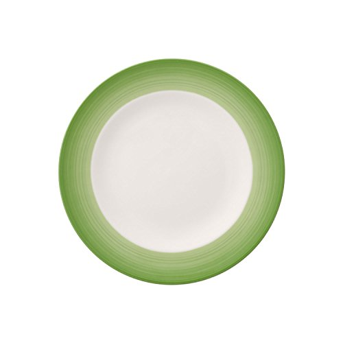 Colorful Life Green Apple Salad Plate by Villeroy & Boch - Premium Porcelain - Made in Germany - Dishwasher and Microwave Safe - 8.5 - Plate Green Buffet