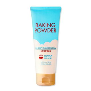 Etude House Baking Powder B.P Deep Cleansing Foam, 150 ml, 2.5 Ounce - Deep Cleansing Foam