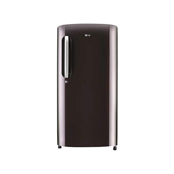 LG 190 L 5 Star Inverter Direct-Cool Single Door Refrigerator (GL-B201ARSZ, Russet Sheen) 2021 August Direct-cool refrigerator: Economical and Cooling without fluctuation Capacity 190 litres: Suitable for families with 2 to 3 members and bachelors Energy Rating 5 Star: Best in class efficiency