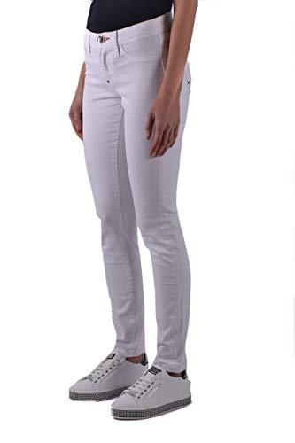 Plein Wdt0574pde001n01aa Blanco Mujer Algodon Philipp Jeans UqdE7nwx