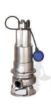 EBARA 50DWXAU6.75S DOMINATOR Automatic Sewage Pump, 1 HP, 1 x 115