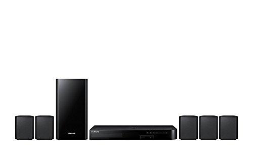 Samsung HT-J4500 5.1 Channel 500 Watt 3D Blu-Ray Home Theater System (Renewed)
