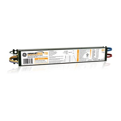 GE 71731 ULTRAMAX LOAD SHED 0-10V DIMMING ELECTRONIC BALLAST, LINEAR FLORESCENT BALLAST, PARALLEL LAMP WIRING, 1-PACK GE LIGHTING INC./LAMPS GE632MAX-H90-V60