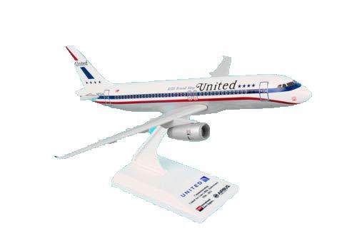 Daron Skymarks United A320 Friend Ship Model Kit (1/150 Scale) - United Airlines Aircraft