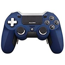[2017 SADES Newest Version PS4 Gaming Controller], Wireless Controller for PlayStation 4 PS4 - Blue