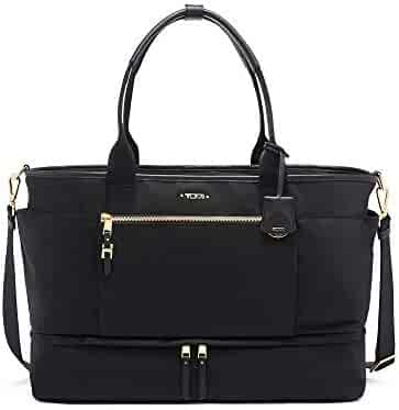 TUMI - Voyageur Cleary Weekender Duffel Bag - Travel Laptop Satchel for Women - Black