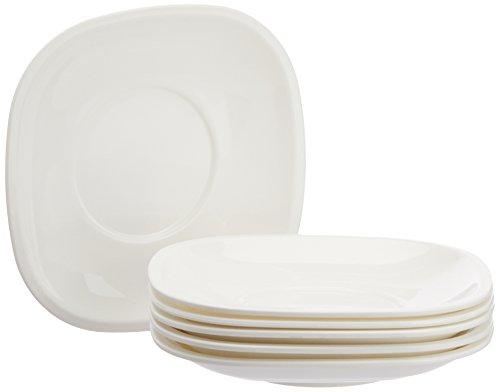Signoraware Plastic Quarter Snack Plate Set