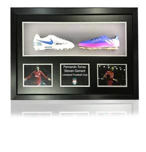 38f47a3d40 Gerrard/Fernando Torres Double encadrement de Luxe avec LED pour Chaussures  de Football Adidas/