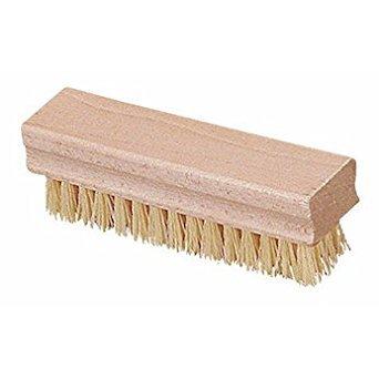 - Cole-Parmer Natural Wood Block Hand/Nail Scrub Brush, 1/Pk