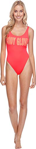 Body Glove Women's Smoothies The Look Solid One Piece Swimsuit, Diva, Small
