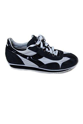 Diadora Sneakers Equipe Stone Wash Grey/White/Black 144279