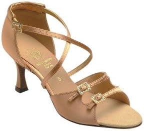 Supadance 1618 Ladies Sandal with a 2.5 Flared Heel