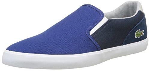 Lacoste Jouer Slip-on 217 1, Basses Homme Bleu (Bleu)