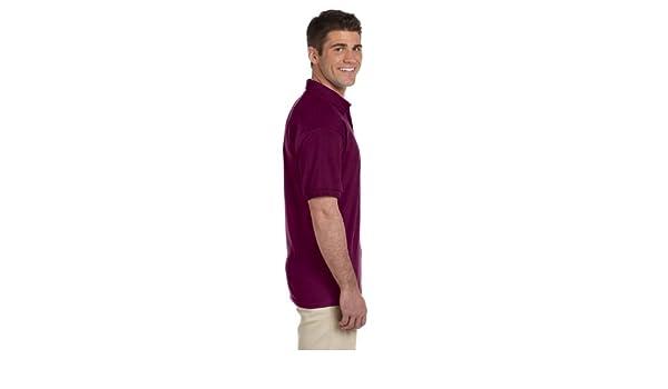 911f67e4eb9 Amazon.com: Gildan 2800 100% Cotton Jersey Polo - Maroon - XL: Sports &  Outdoors