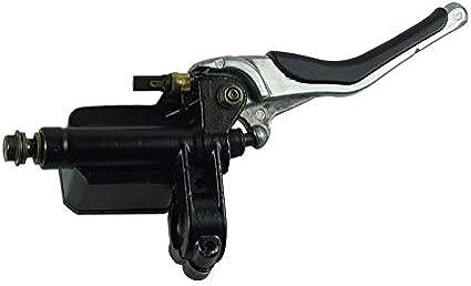 Colore : Left 1 paio freno pompa freni posteriore sinistro e la leva di destra for Yamaha Aerox YQ50 1997-2013 MBK Nitro Cyclist store