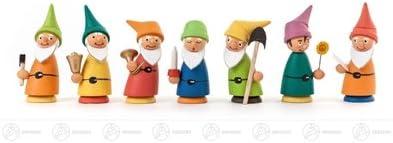 H/öhe ca 5,5 cm NEU Erzgebirge Weihnachtsfigur Holzfigur Miniatur Zwergenschar 7