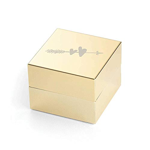 Kate Spade New York KS Bridal Ring Box, 2.5 inches, Gold