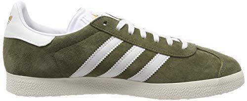 White Donna Scarpe raw Verde Ginnastica ftwr Adidas Gazelle Da W White Khaki chalk xqgw1OABA
