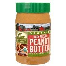 Woodstock Organic Smooth No-Salt Peanut Butter Spread , 1...