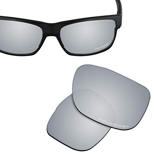 New 1.8mm Thick UV400 Replacement Lenses for Oakley TwoFace Sunglass - ()