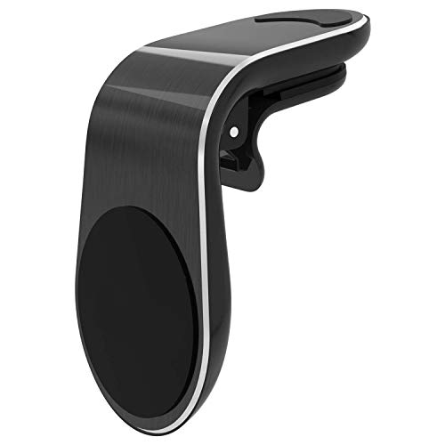 WeCool Magnetic Mobile Holder for Car with Air Vent Clip Mount Universal Cell Phone Holder (Black)