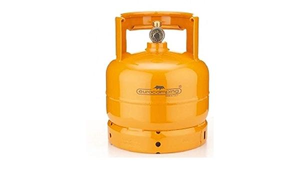 Bombona de cocina recargable, contenedor para gas GLP de 2 kg, para camping