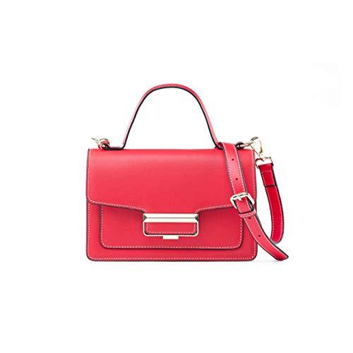 à Sac Carré Femme épaule Sac Portable Red Une Petit Coréenne Sac AJLBT Bandoulière Mode Version TfwxPRg7q