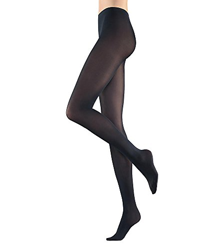 Falke Women's Pure Matte 50 Tight, Black, Small/Medium