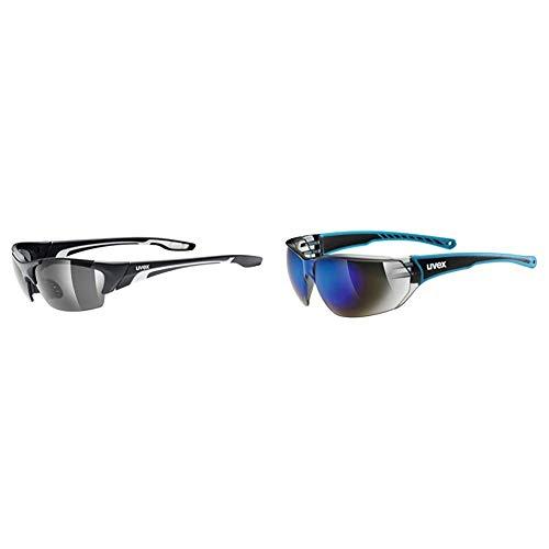 uvex Unisex – Erwachsene, blaze III Sportbrille