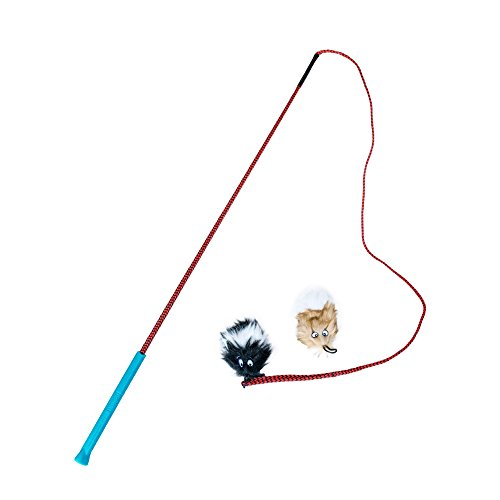 Outward Hound Tail Teaser Dog Flirt Pole Toy ()