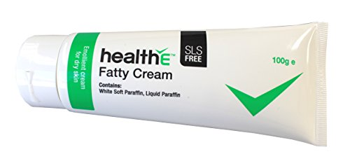 healthE - Fatty Cream - Suitable For Dry Skin, Eczema, Dermatitis, Psoriasis and Sensitive Skin (100g Tube) (Tube Water Trap)